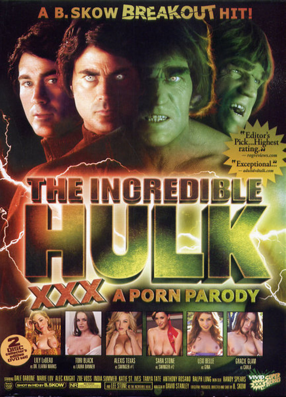 The Incredible Hulk XXX...  [2 DVDs] DVD Image