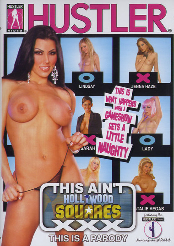 This Ain't Hollywood Squares XXX DVD Image