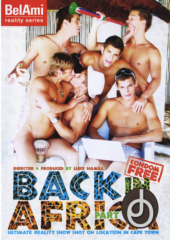 Back In Africa 1 Gay DVD Image