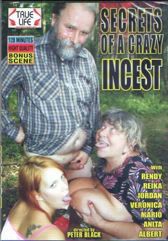Secrets of a crazy Incest DVD Image