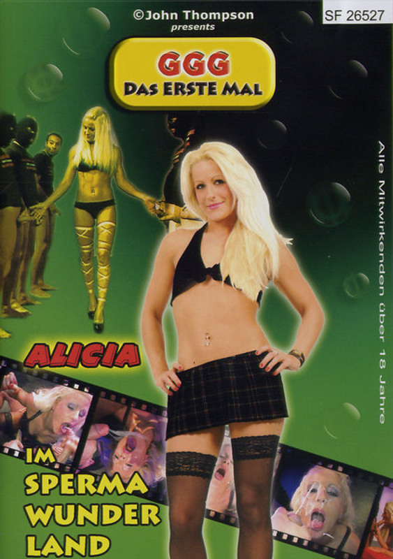 Alicia im Spermawunderland DVD Image