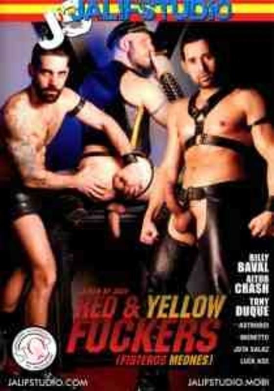Red & Yellow Fuckers Gay DVD Bild