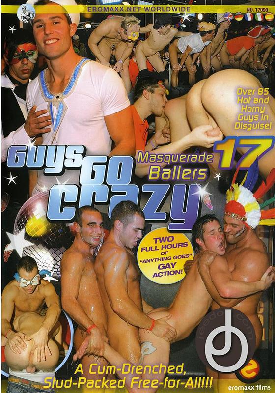 Guys Go Crazy 17 Gay DVD Image