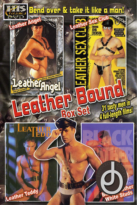 Leather Bound Box Set Gay DVD image