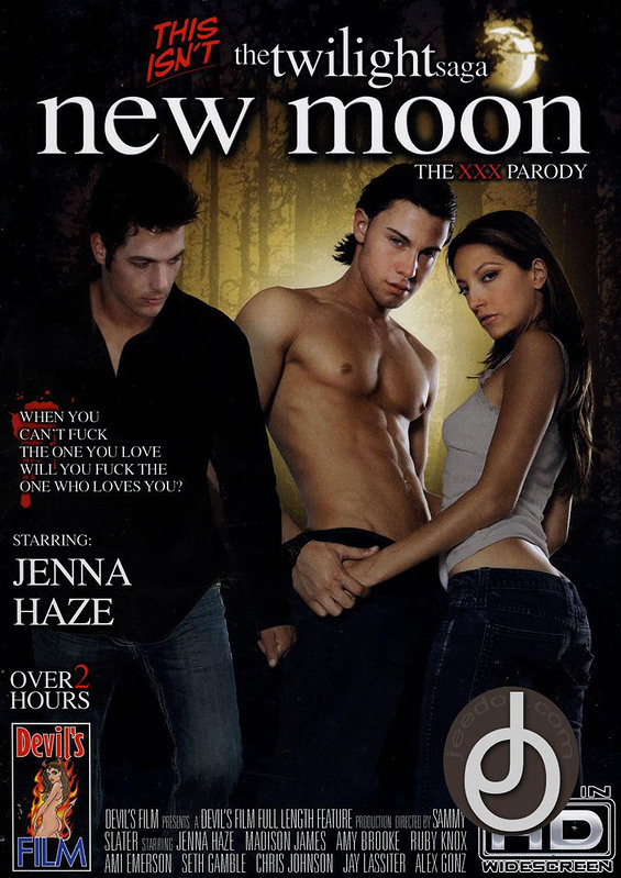 This Isnt New Moon A  Xxx Parody DVD Image