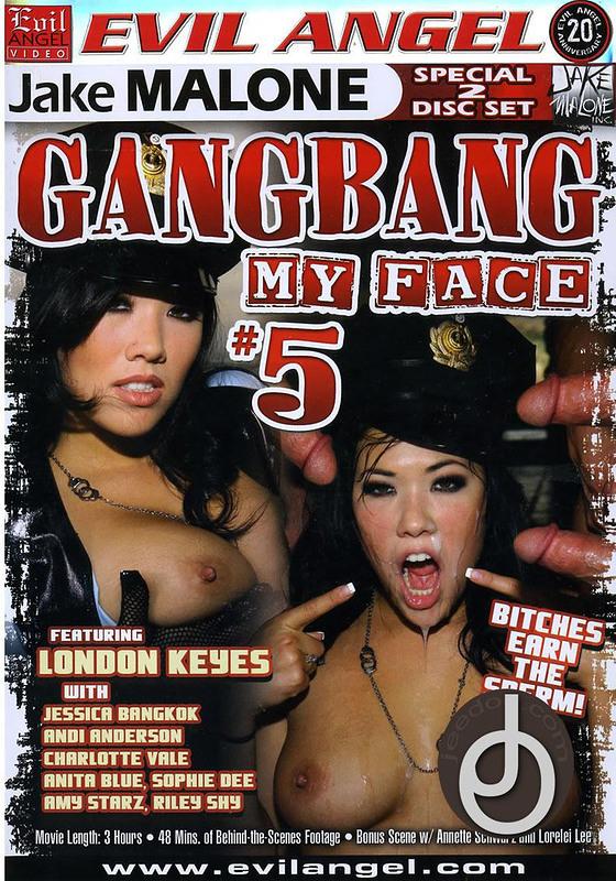 Gang Bang My Face 5 DVD Image