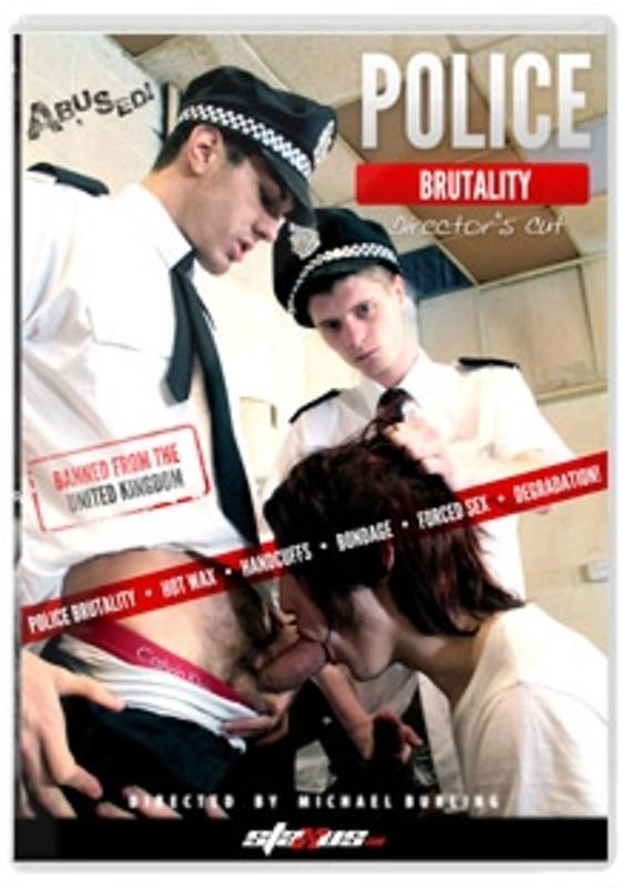 Police Brutaliy Gay DVD Bild
