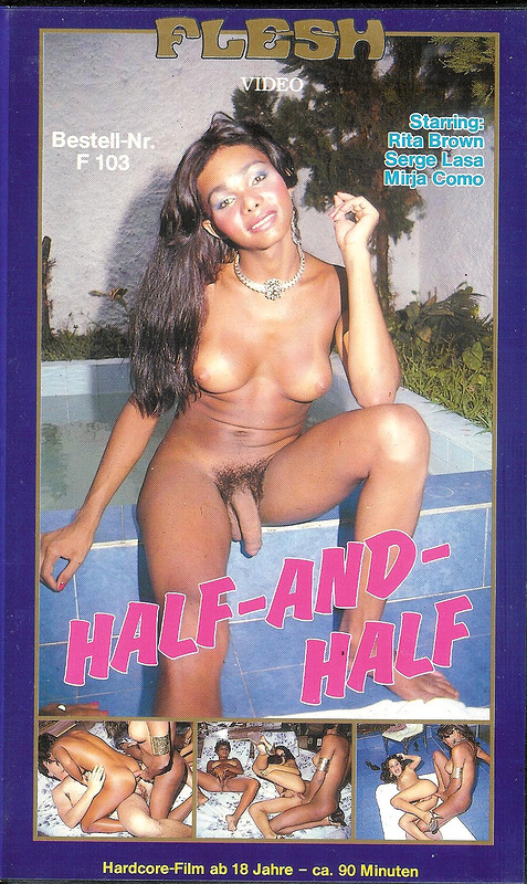 Half-and-Half VHS-Video Image