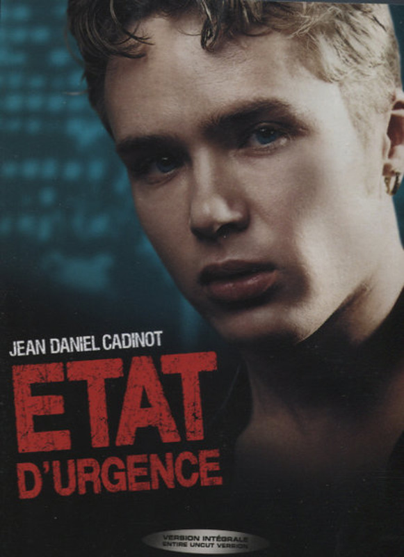 Etat D'urgence Gay DVD Image