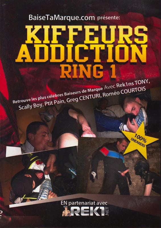 Kiffeurs Addiction Ring 1 Gay DVD Bild
