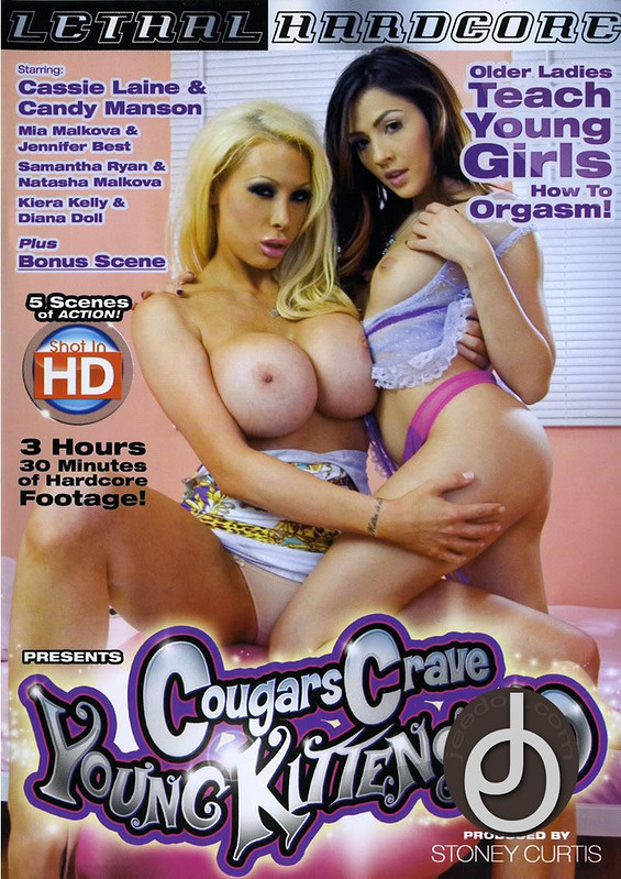 Cougars Crave Young Kittens 10 DVD Image
