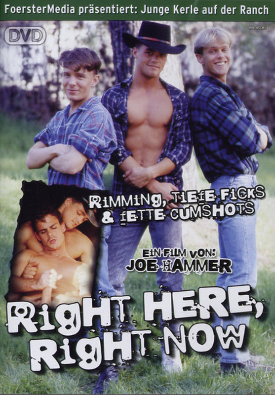 Right Here, Right Now Gay DVD Bild