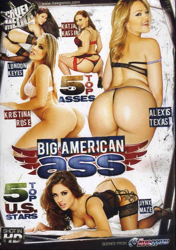 Big American Ass DVD Image