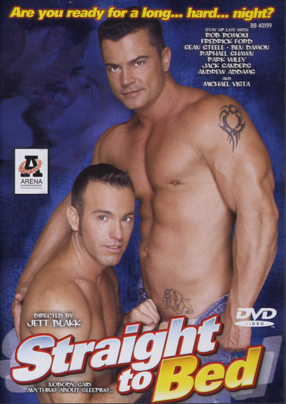 Straight to Bed Gay DVD Bild