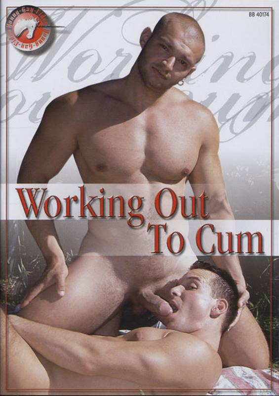 Working Out To Cum Gay DVD Bild