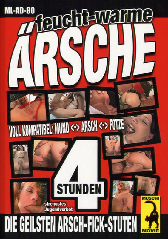 Feucht-warme Ärsche DVD Image