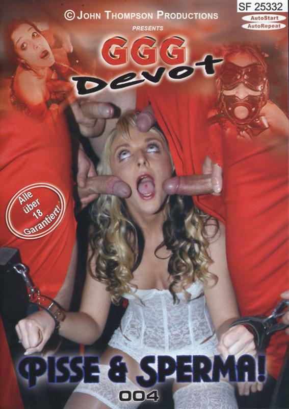 Pisse & Sperma!  4 DVD Image