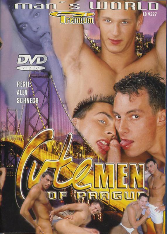 Cute men of Prague Gay DVD Image