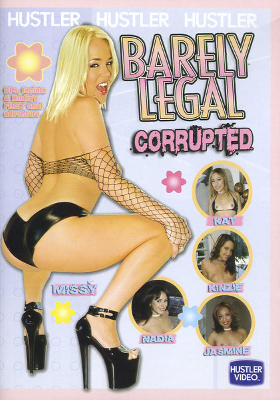 Barely Legal Corrupted DVD Image