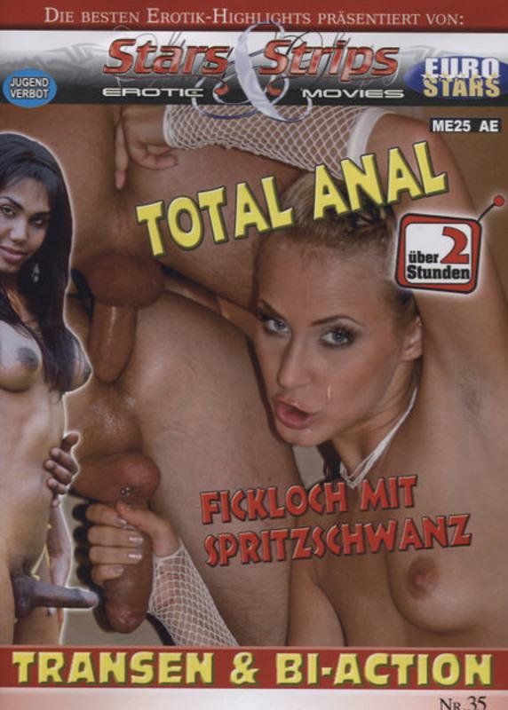 Total Anal - Fickloch mit Spritzschwanz DVD Image