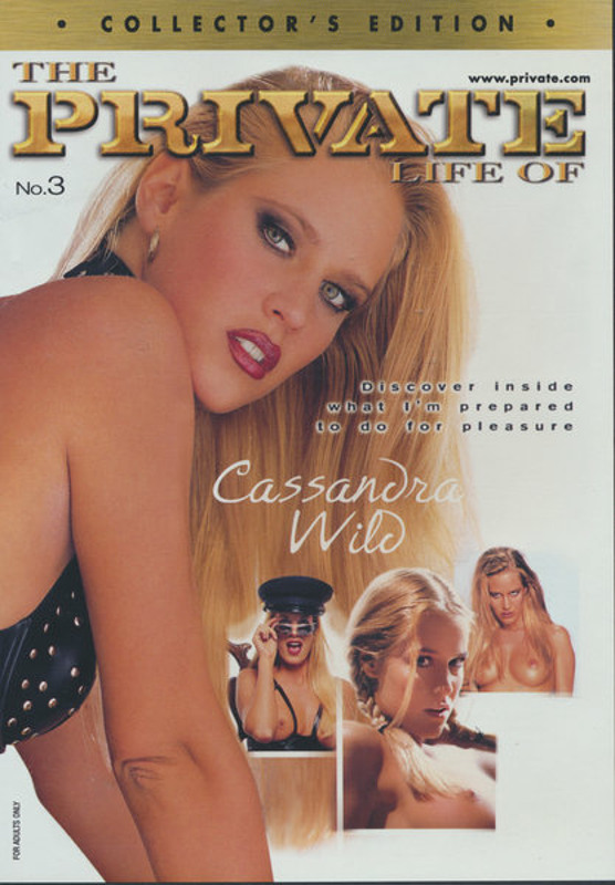 The Private life of Cassandra Wild DVD Image