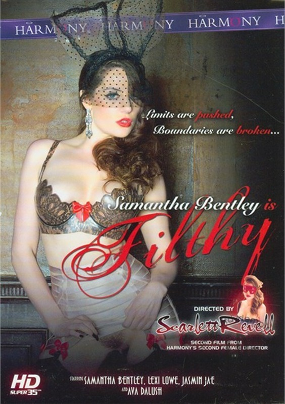 Samantha Bentley Is Filthy DVD Image