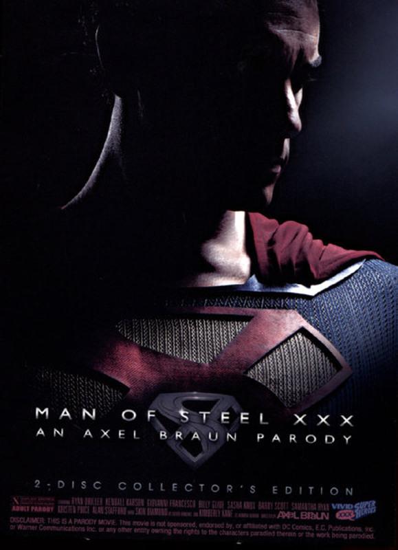 Man Of Steel XXX  [2 DVDs] DVD Image