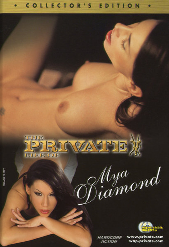 The Private life of Mya Diamond DVD Image