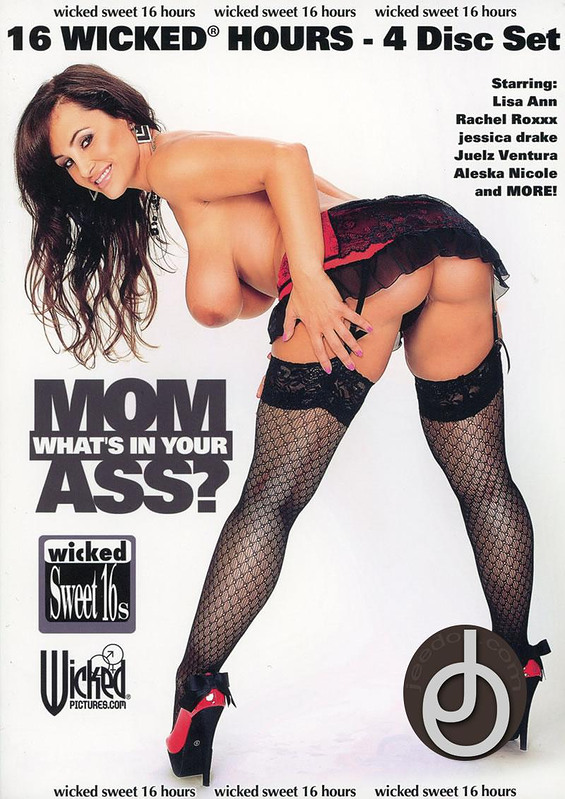16hr Mom Whats In Your Ass DVD Image