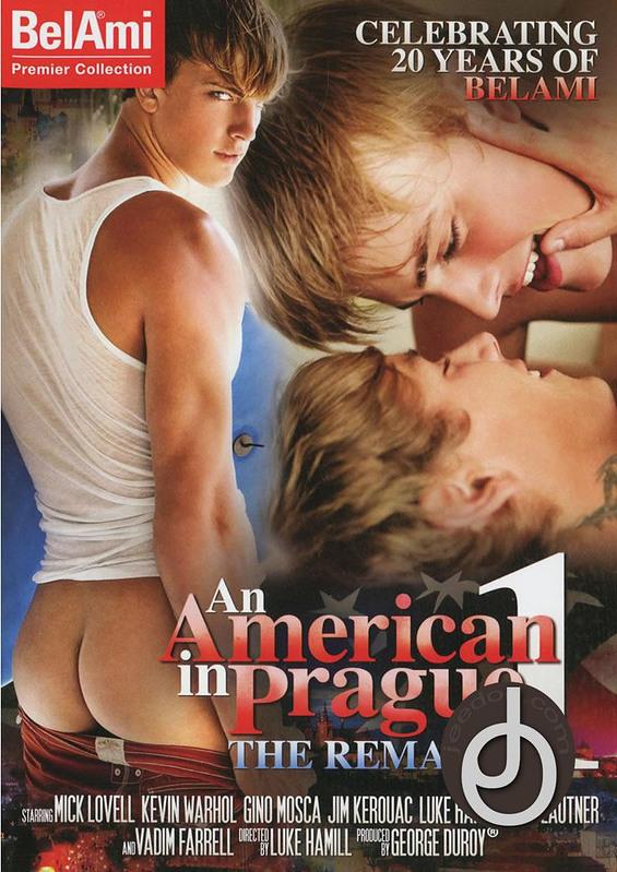 American In Prague The Remake 1 Gay DVD Image