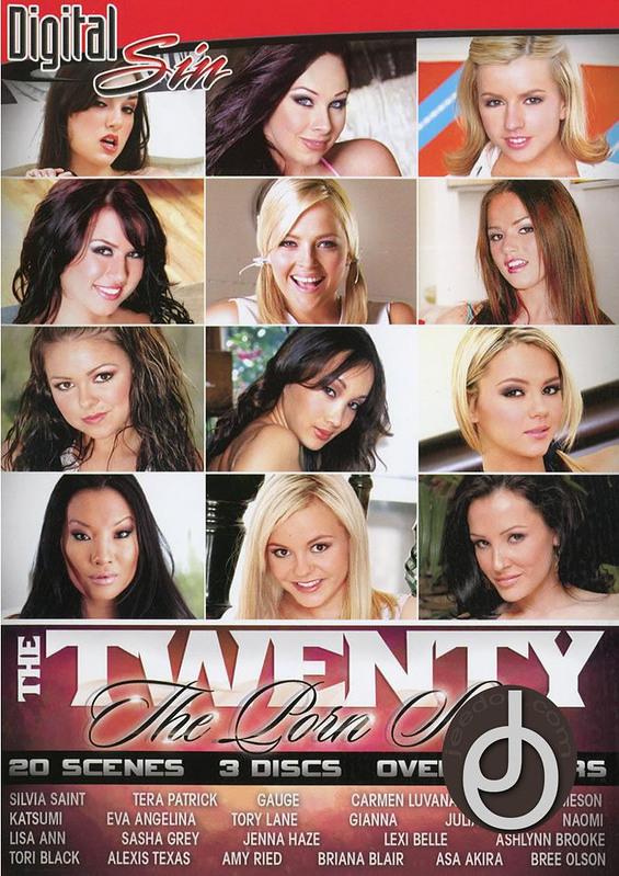 Twenty The Porn Stars  DVD Image