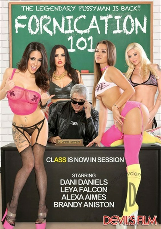 Fornication 101 DVD Image