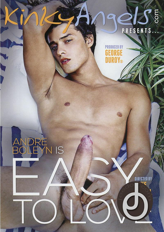 Andre Boleyn Is Easy To Love Gay DVD Image