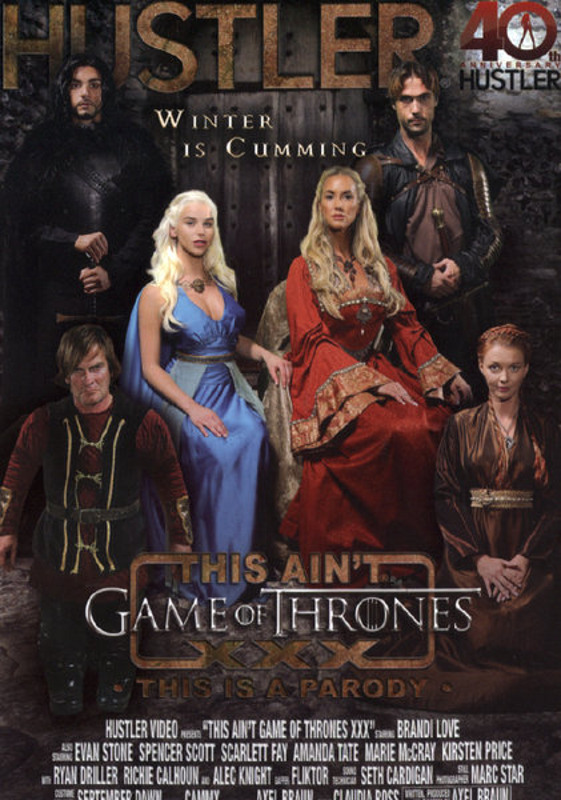 This Ain't Game Of Thrones XXX DVD Image