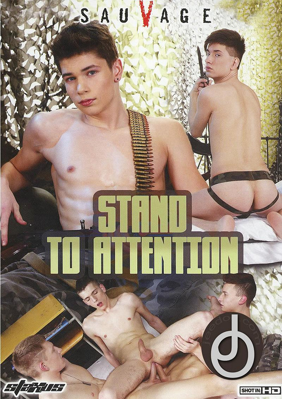 Stand To Attention Gay DVD Image