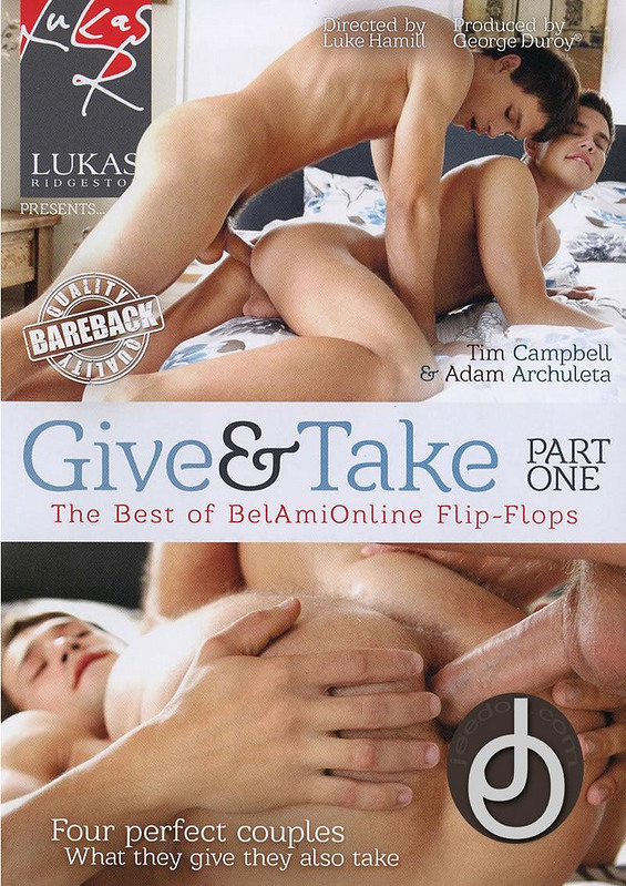 Give And Take Gay DVD Image