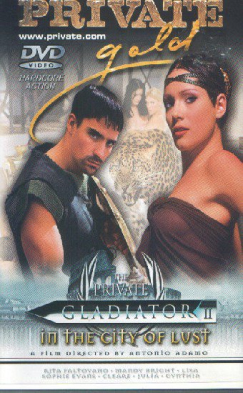 Gladiator  2 - In the City of Lust DVD Image