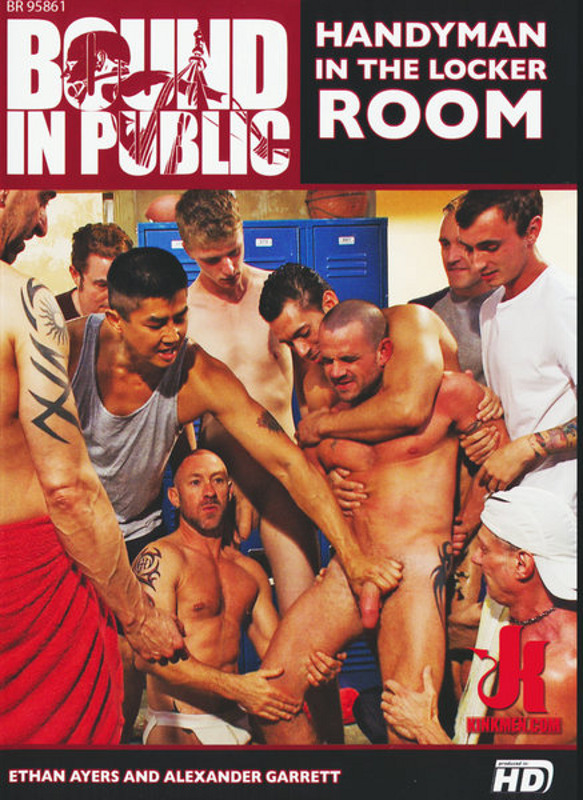 Bound In Public - Handyman In The ... Gay DVD Image