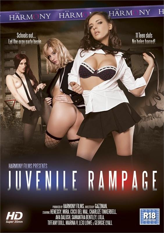 Juvenile Rampage DVD Image