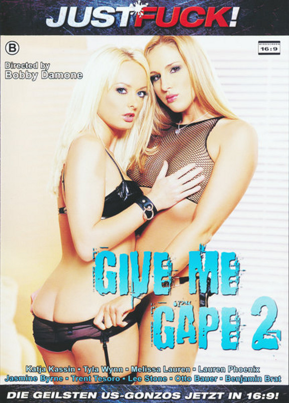 Just Fuck! Give Me Gape 2 DVD Image