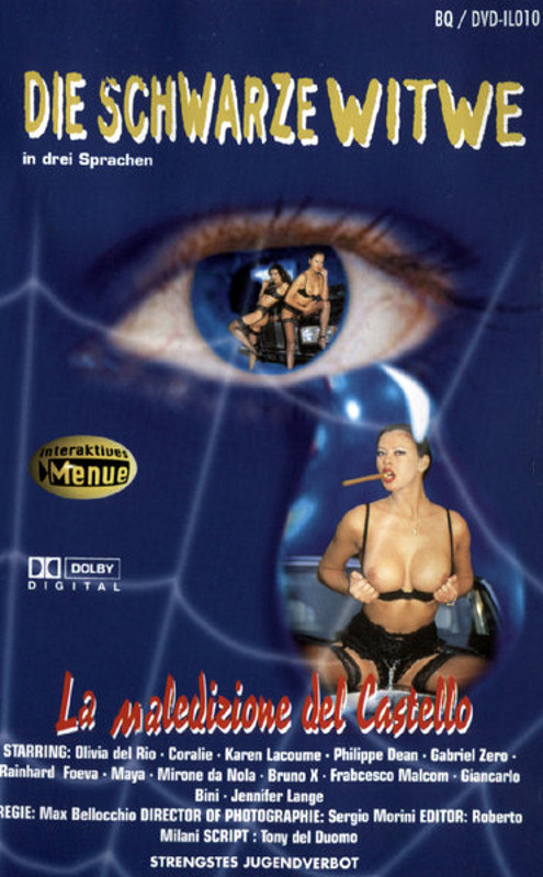 Die schwarze Witwe DVD Image