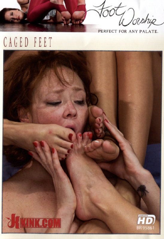 Foot Worship - Caged Feet DVD Image