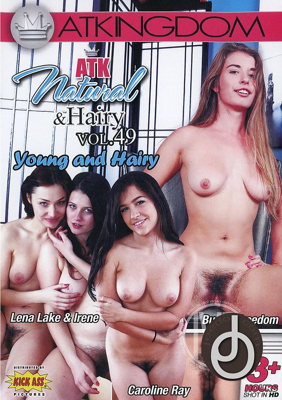 Atk Natural Hairy Dvd 50
