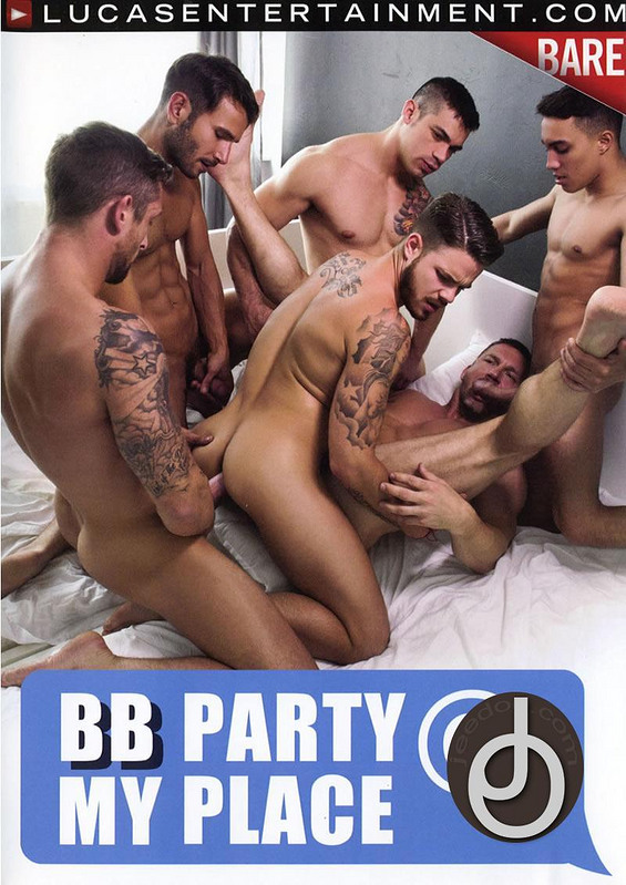 Bb Party At My Place Gay DVD Image