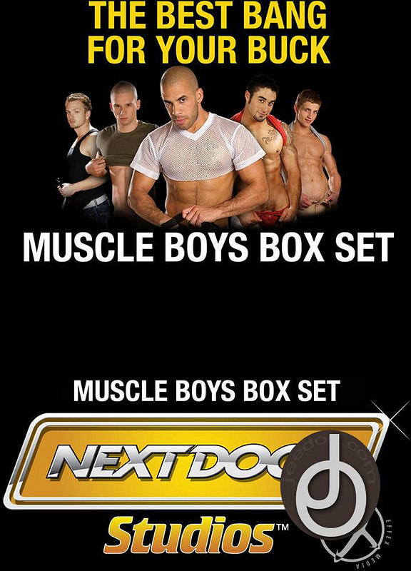3pk Muscle Boys Box Set Gay DVD Bild