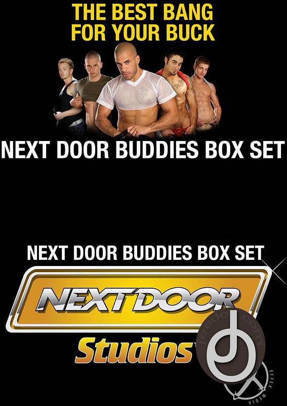 3pk Next Door Buddies Box Set Gay DVD image