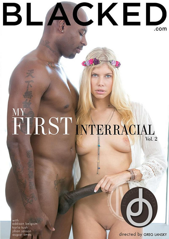 My First Interracial 2 DVD Image
