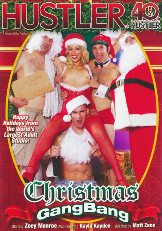 Christmas Gang Bang DVD Image