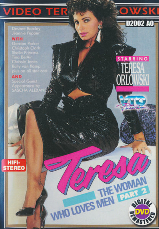 Teresa, The Woman Who Loves Men  2 DVD Image