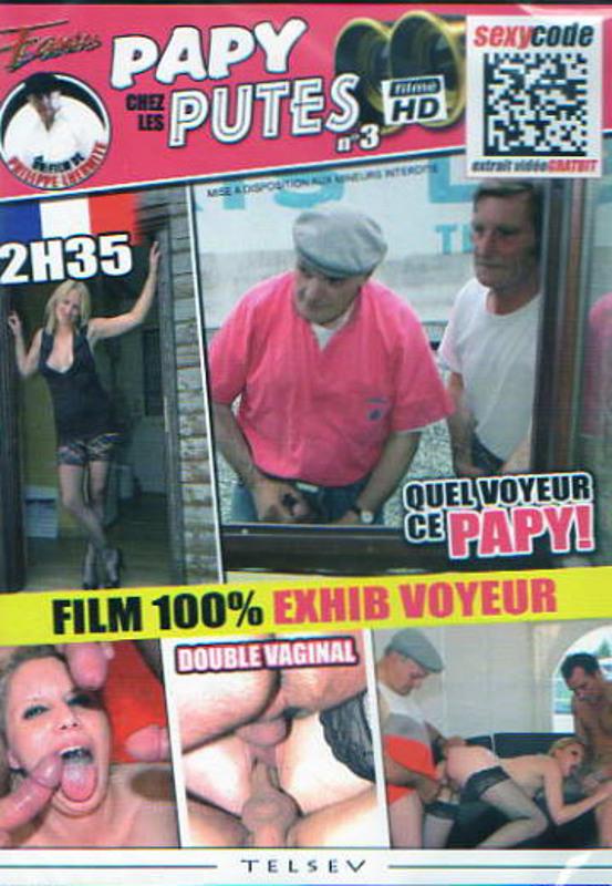 Papy Voyeur chez les Putes Vol. 3 DVD Image